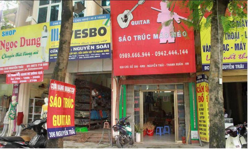 Đại lý sáo trúc mão mèo tại Hà Nội